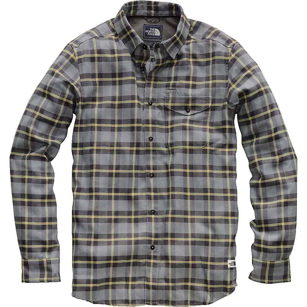 ザ ノースフェイス The North Face メンズ ハイキング・登山 トップス【ThermoCore LS Shirt】Monument Grey Warfield Plaid