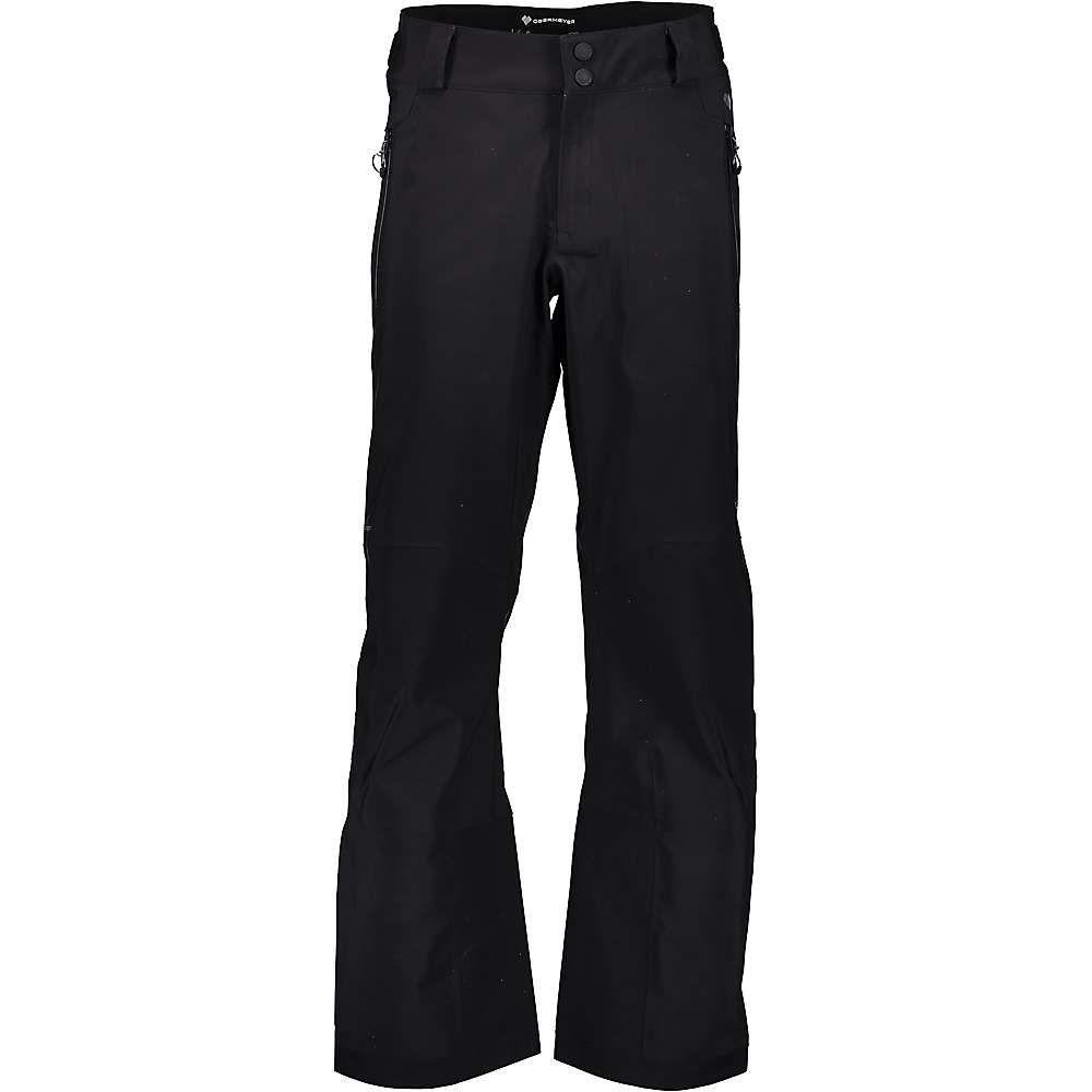 オバマイヤー Obermeyer メンズ スキー・スノーボード ボトムス・パンツ【Foraker Shell Pant】Black