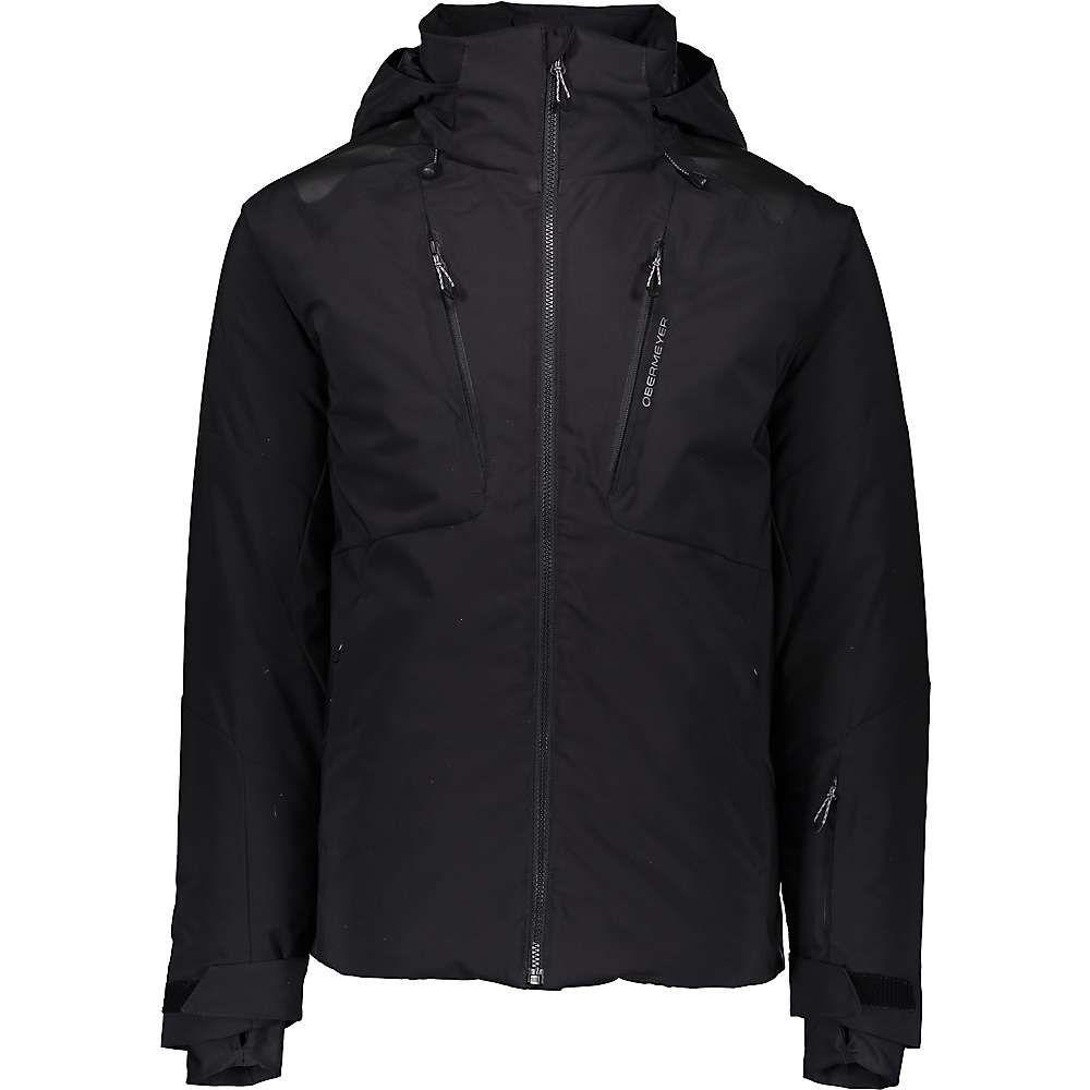 人気商品は オバマイヤー Obermeyer Obermeyer メンズ スキー・スノーボード アウター Jacket】Black メンズ【Foundation Jacket】Black, chemy E junto:50836e86 --- canoncity.azurewebsites.net