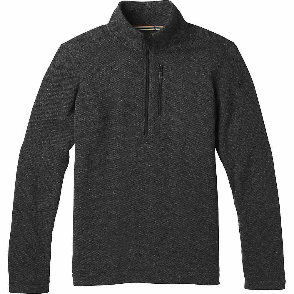 スマートウール Smartwool メンズ ハイキング・登山 トップス【Hudson Trail Fleece Half Zip Sweater】Dark Charcoal