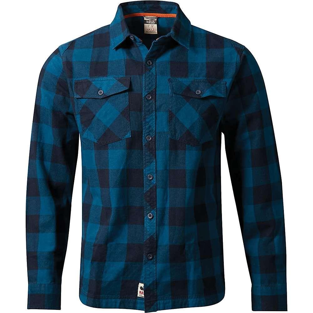 ラブ Rab メンズ ハイキング・登山 トップス【Boundary Shirt】Indigo Denim / Ink