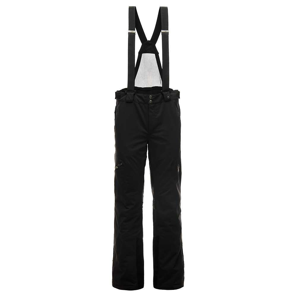 スパイダー Spyder メンズ スキー・スノーボード ボトムス・パンツ【Dare Tailored Pant】Black / Black