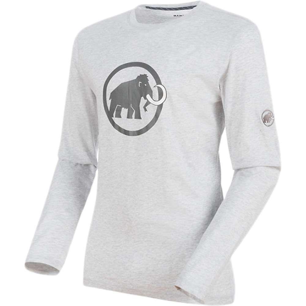 マムート Mammut メンズ ハイキング・登山 トップス【Logo LS Top】Marble Melange