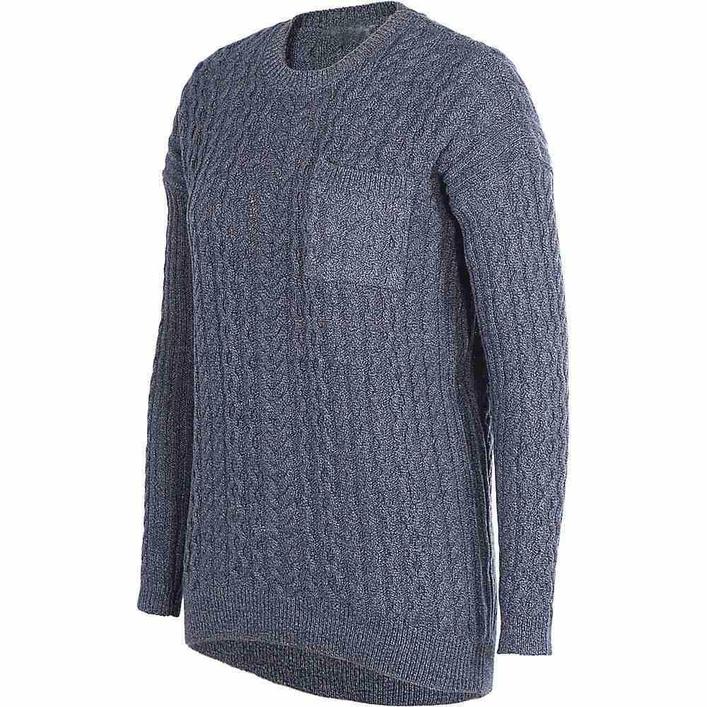 グラミチ Gramicci レディース ハイキング・登山 トップス【Get Outside Hemp Sweater】Marled Navy