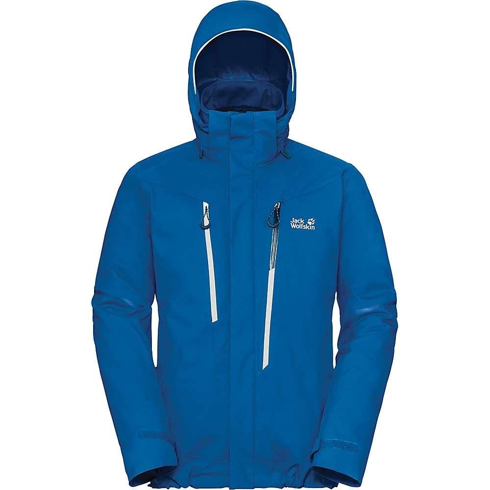ジャックウルフスキン Jack Wolfskin メンズ スキー・スノーボード アウター【Exolight 3 in 1 Jacket】Electric Blue