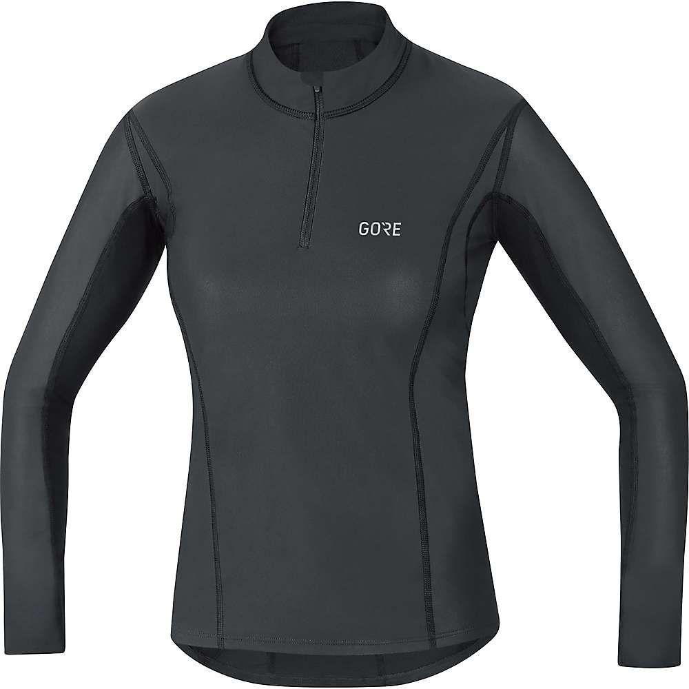 ゴアウェア Gore Wear レディース ランニング・ウォーキング トップス【M Gore Windstopper Base layer Thermo Turtleneck Top】Black