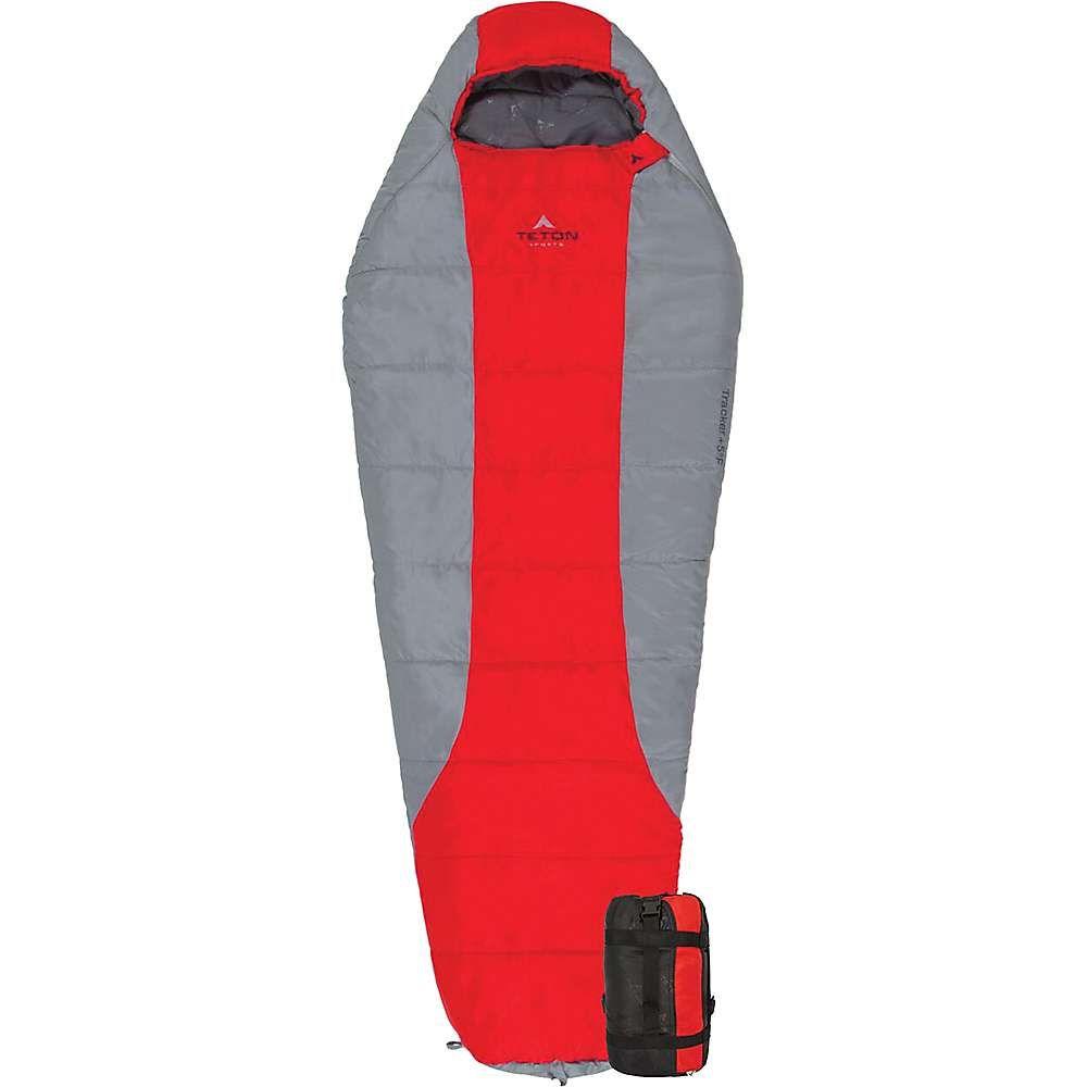 ティトンスポーツ Teton Sports ユニセックス ハイキング・登山【Tracker +5F Ultralight Mummy Bag】Red