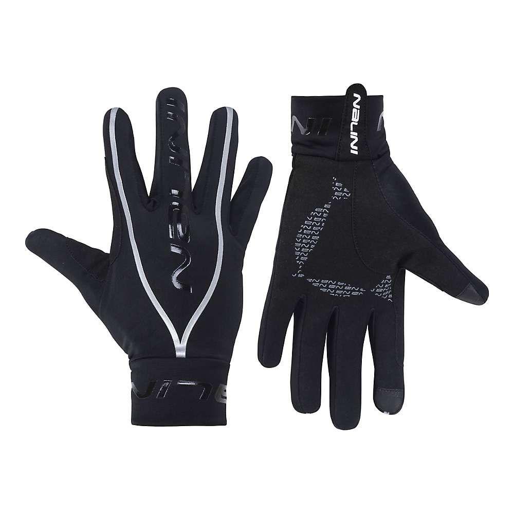 ナリーニ Nalini メンズ 自転車 グローブ【New Pure Mid Glove】Black