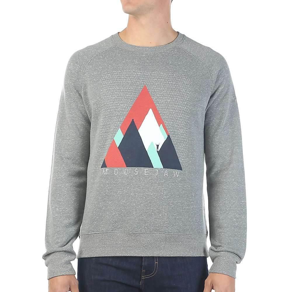 ムースジョー Moosejaw メンズ ハイキング・登山 トップス【Bizarre Love Triangle Crew Neck Sweatshirt】Heather Grey
