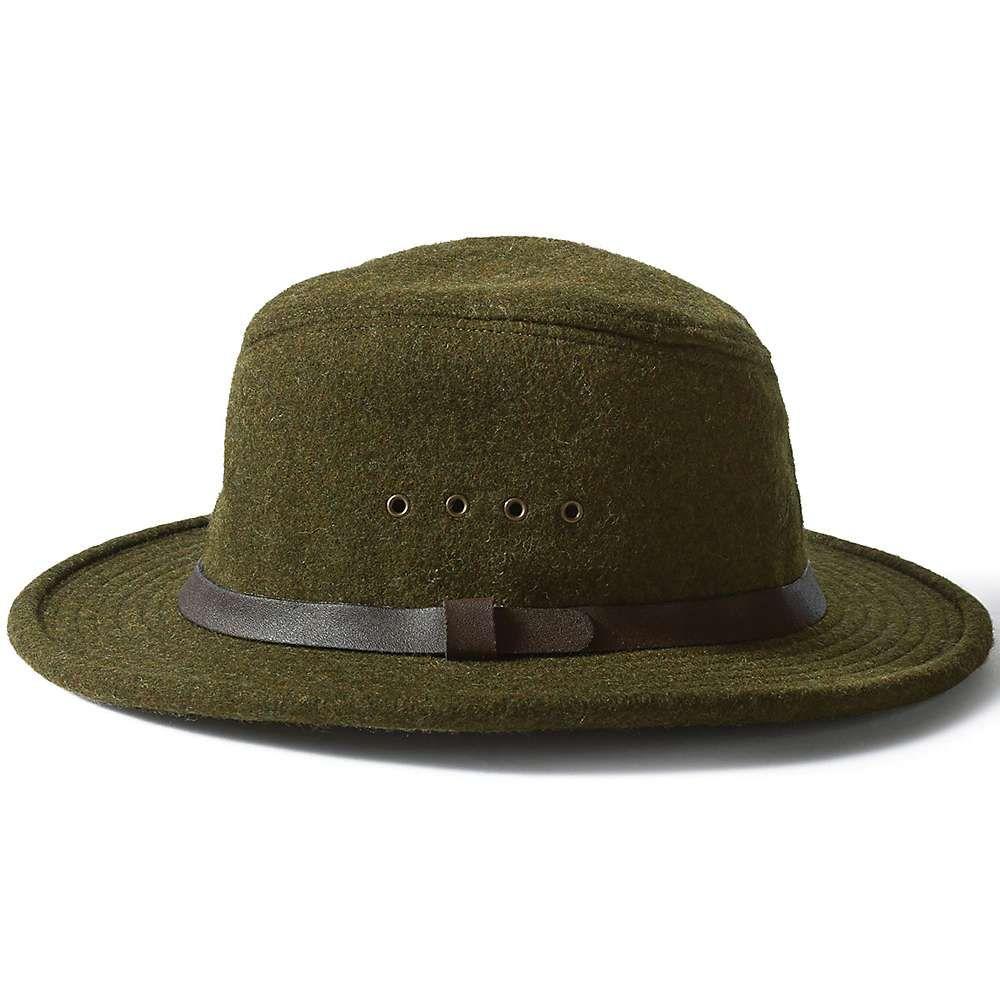 フィルソン Filson メンズ 帽子 ハット【Wool Packer Hat】Forest Green