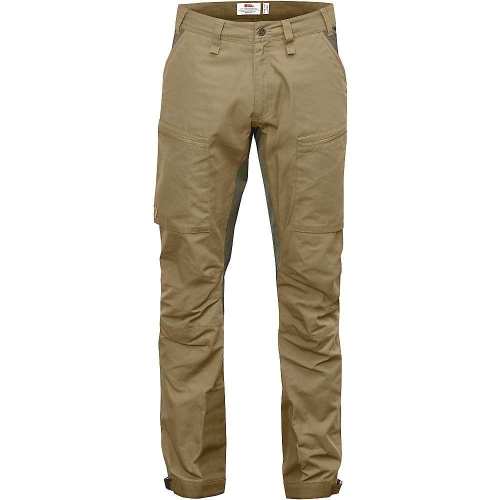 フェールラーベン Fjallraven メンズ ハイキング・登山 ボトムス・パンツ【Abisko Lite Trekking Trousers】Sand