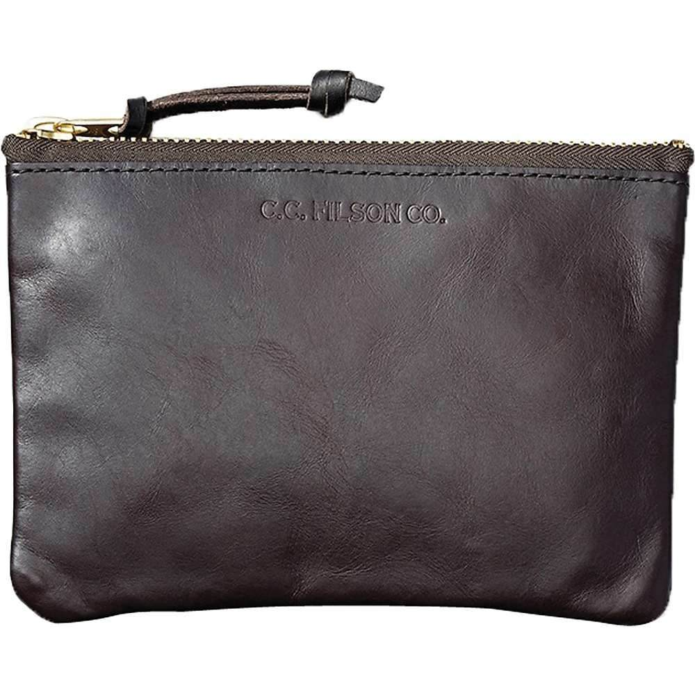 フィルソン Filson メンズ ポーチ【Medium Leather Pouch】Brown