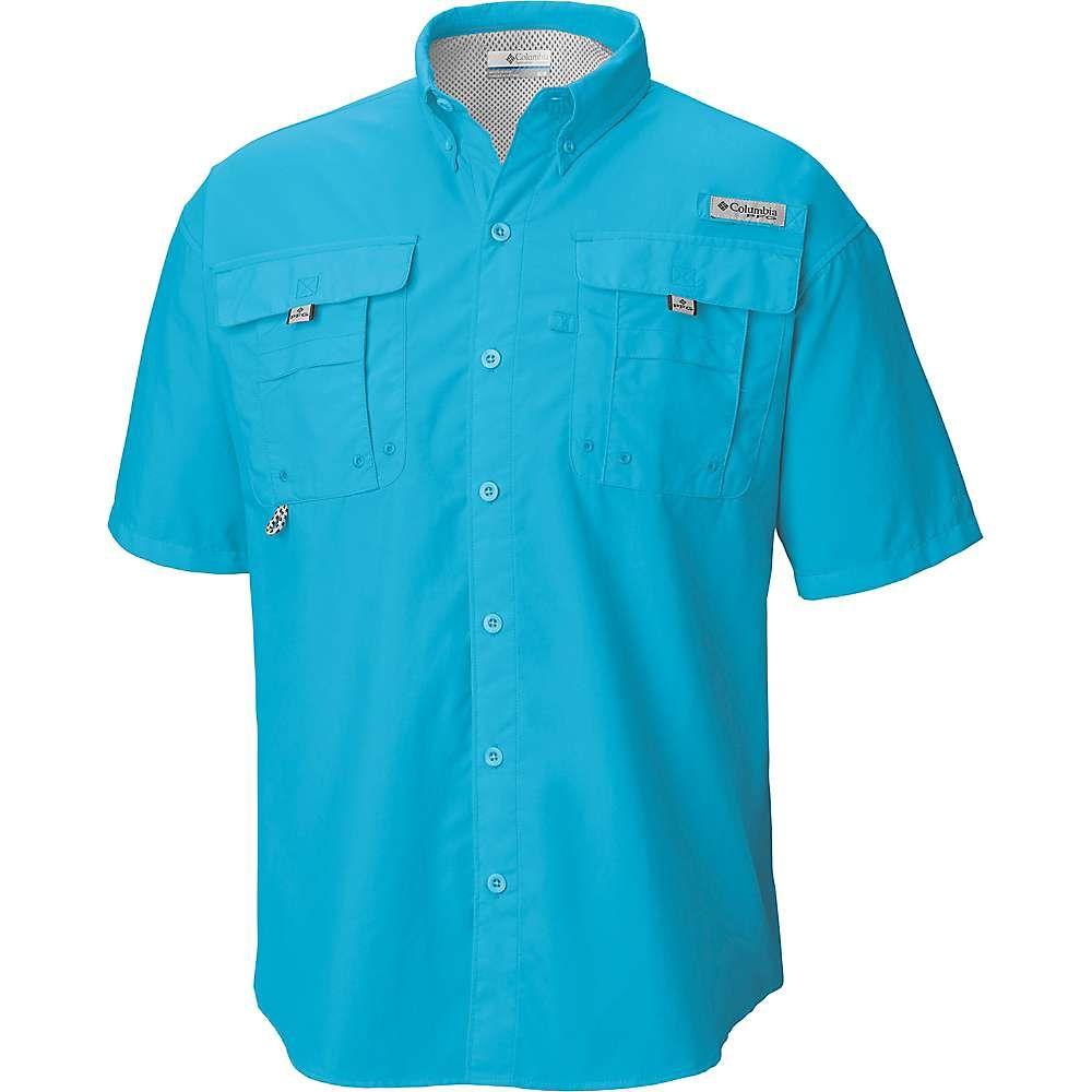 コロンビア Columbia メンズ ハイキング・登山 トップス【Bahama II SS Shirt】Riptide