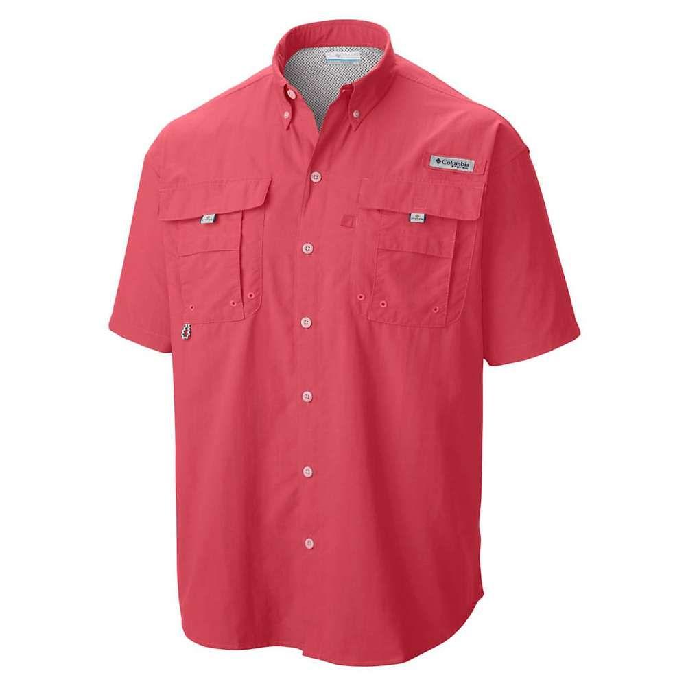 【国内正規品】 コロンビア メンズ Columbia メンズ ハイキング・登山 トップス コロンビア【Bahama II SS II Shirt】Sunset Red, インノシマシ:309ff0a8 --- canoncity.azurewebsites.net