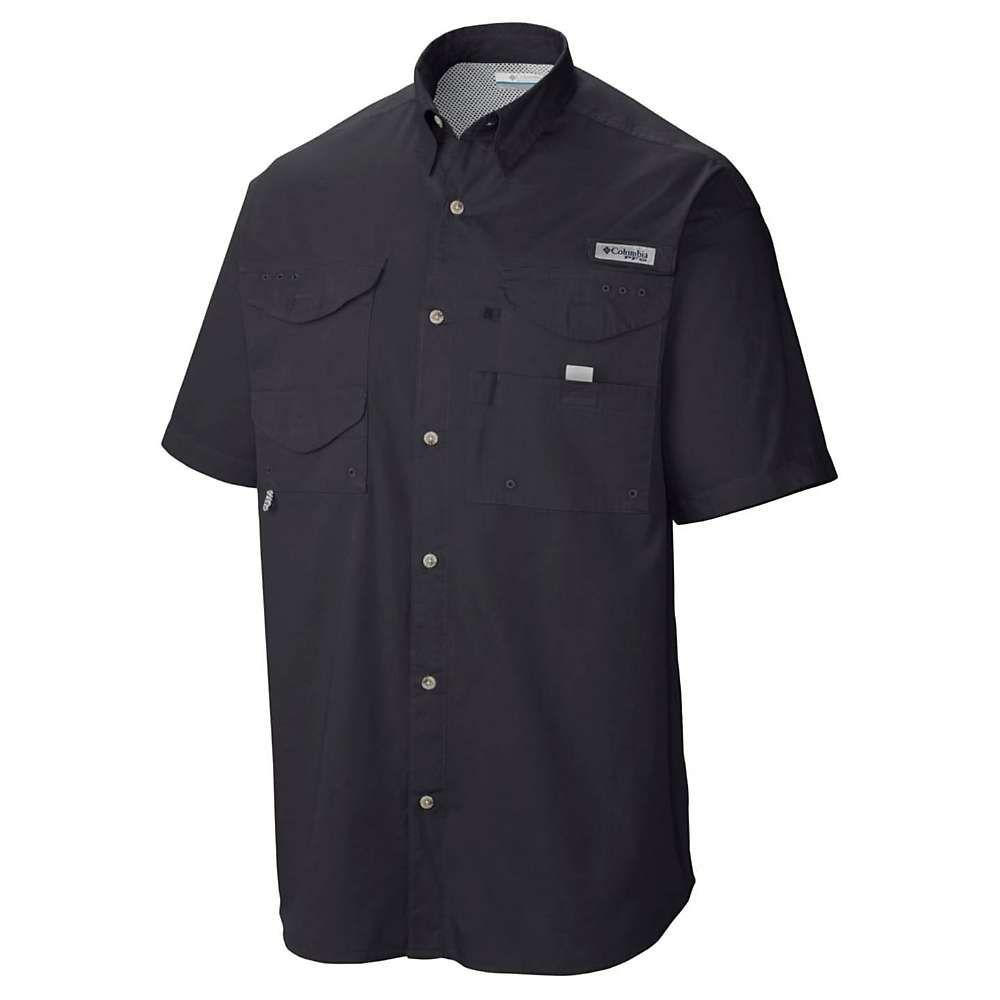 コロンビア Columbia メンズ トップス 半袖シャツ【Bonehead SS Shirt】Black