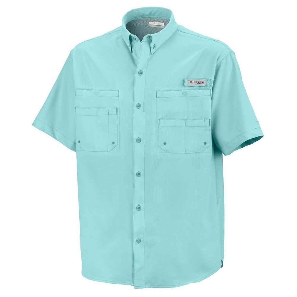 コロンビア Columbia メンズ ハイキング・登山 トップス【Tamiami II SS Shirt】Gulf Stream