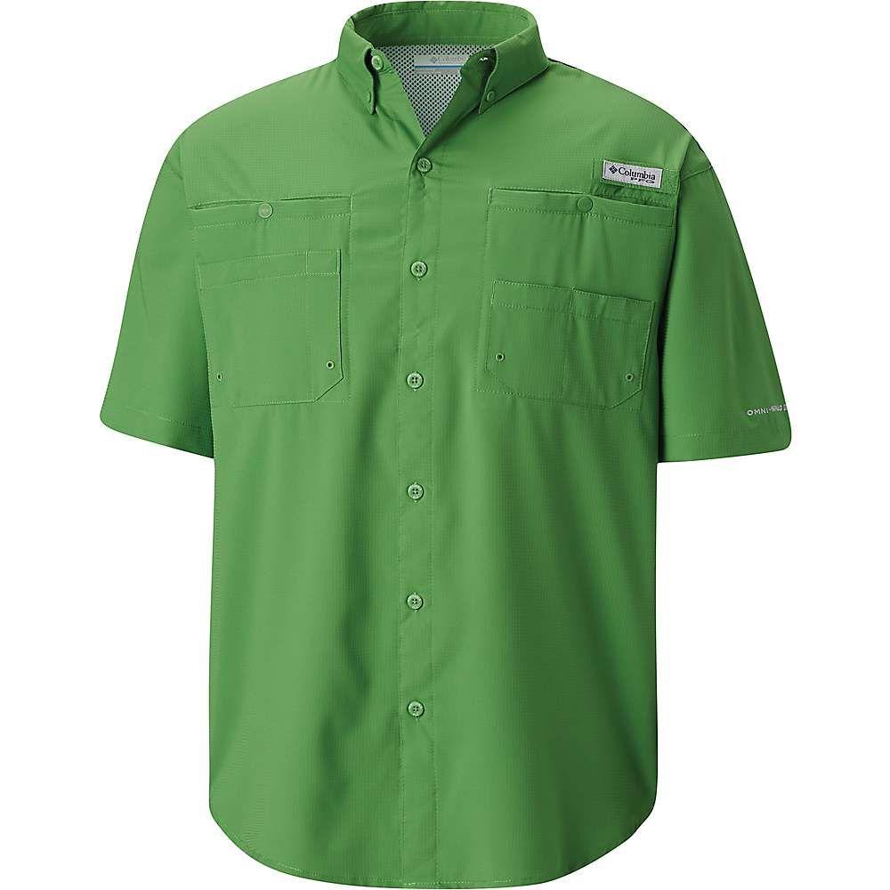 名作 コロンビア Columbia SS メンズ ハイキング・登山 トップス Green【Tamiami II SS コロンビア Shirt】Clean Green, ゼネラルステッカー:45cf59b1 --- bibliahebraica.com.br