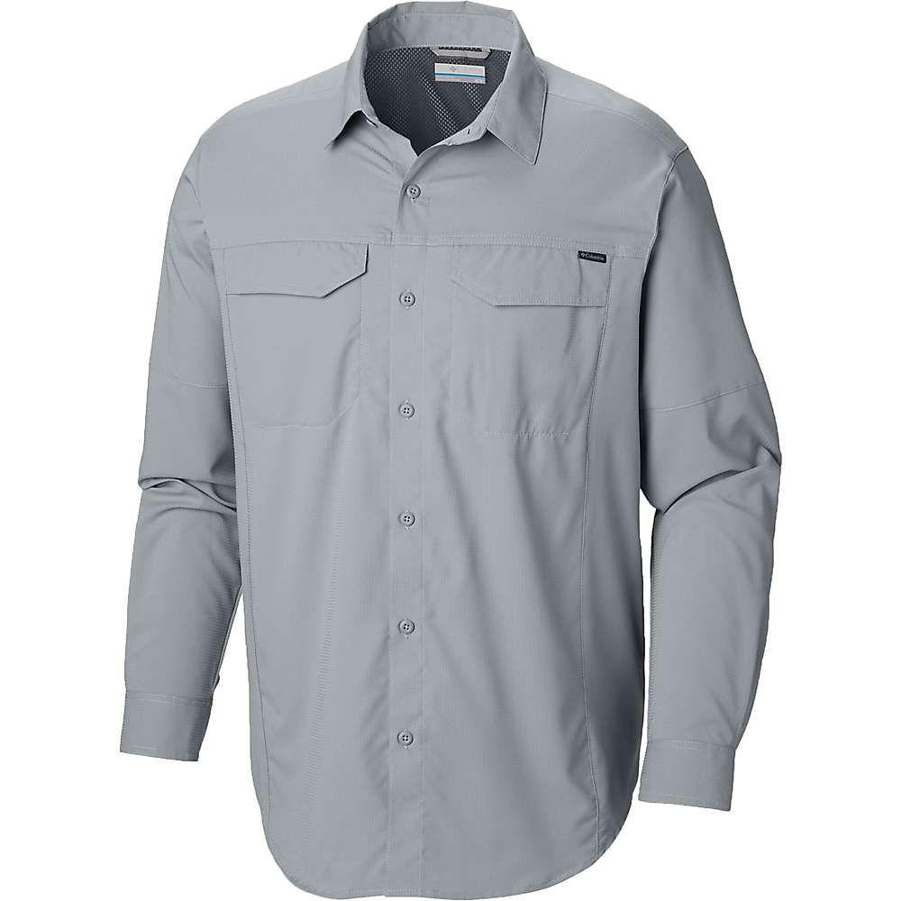 コロンビア Columbia メンズ ハイキング・登山 トップス【Silver Ridge Lite Long Sleeve Shirt】Cool Grey