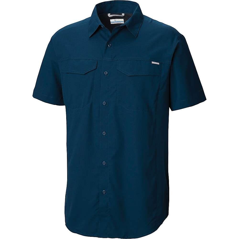 コロンビア Columbia メンズ ハイキング・登山 トップス【Silver Ridge Lite SS Shirt】Petrol Blue