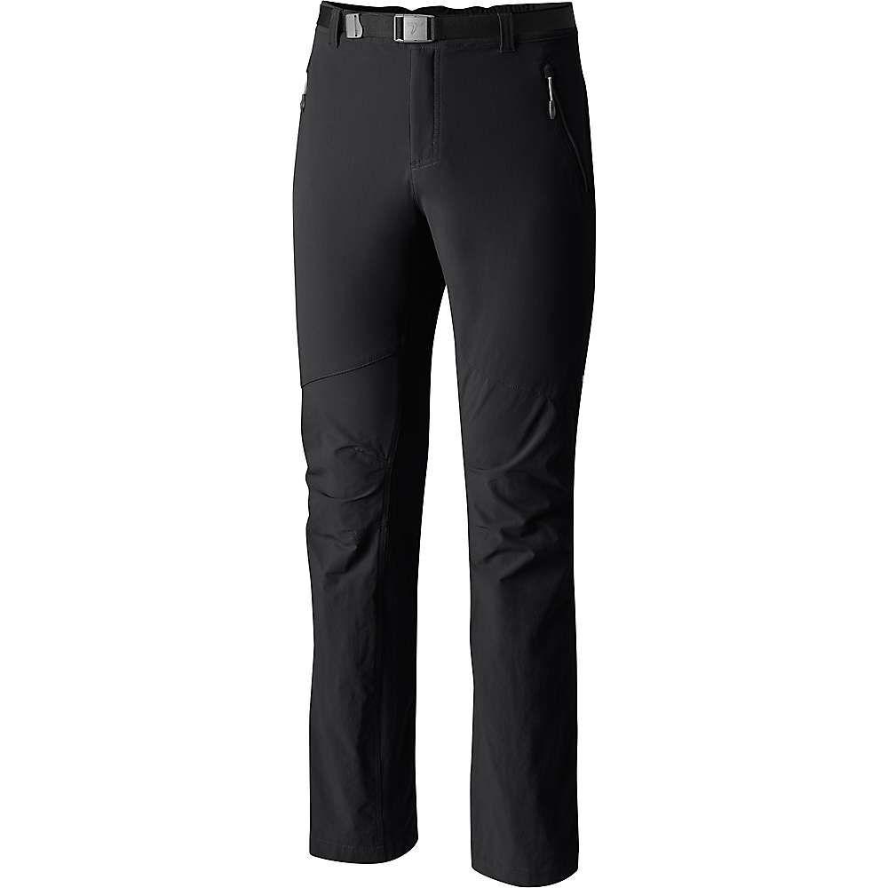 コロンビア Columbia メンズ ハイキング・登山 ボトムス・パンツ【Titanium Titan Peak Pant】Black S30