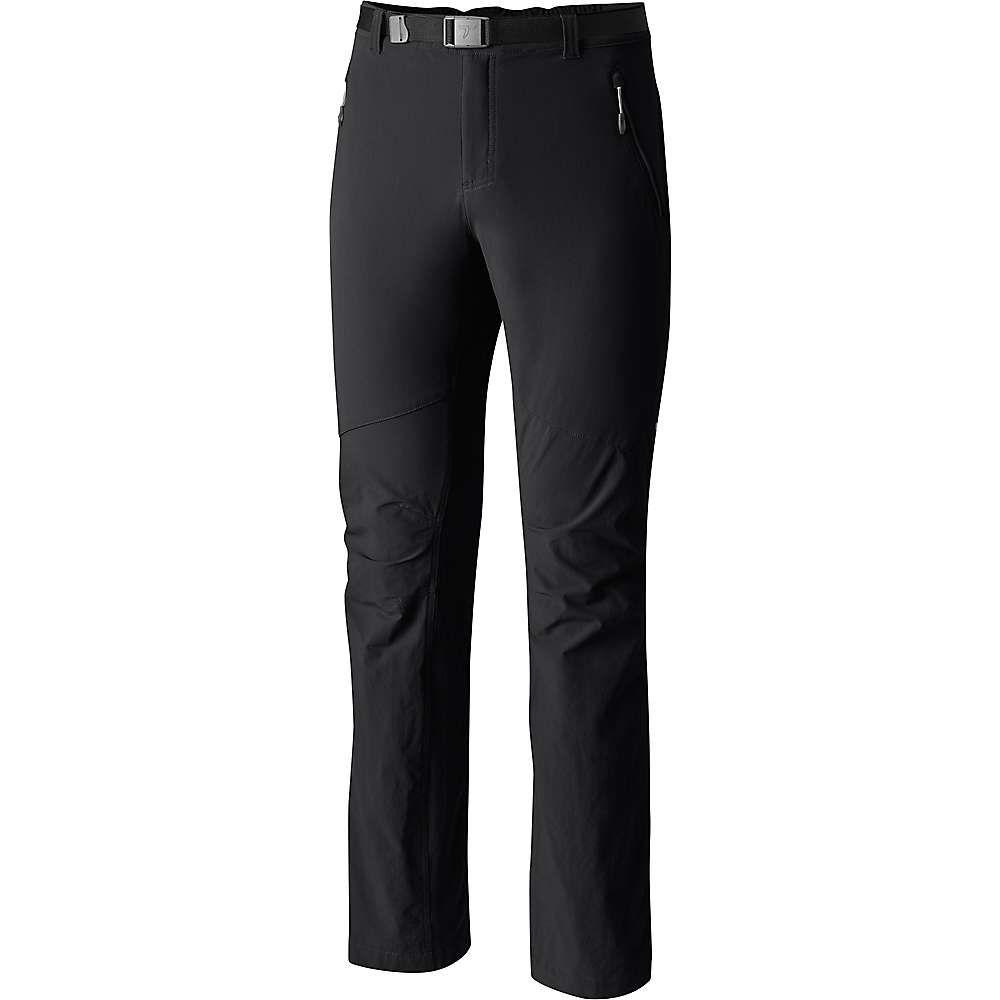 コロンビア Columbia メンズ ハイキング・登山 ボトムス・パンツ【Titanium Titan Peak Pant】Black S32