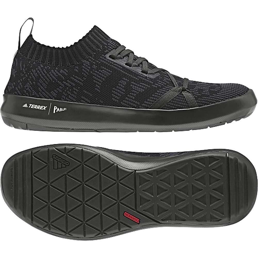 アディダス Adidas メンズ シューズ・靴 ウォーターシューズ【Terrex Boat DLX Parley Shoe】Black/Carbon/Chalk White