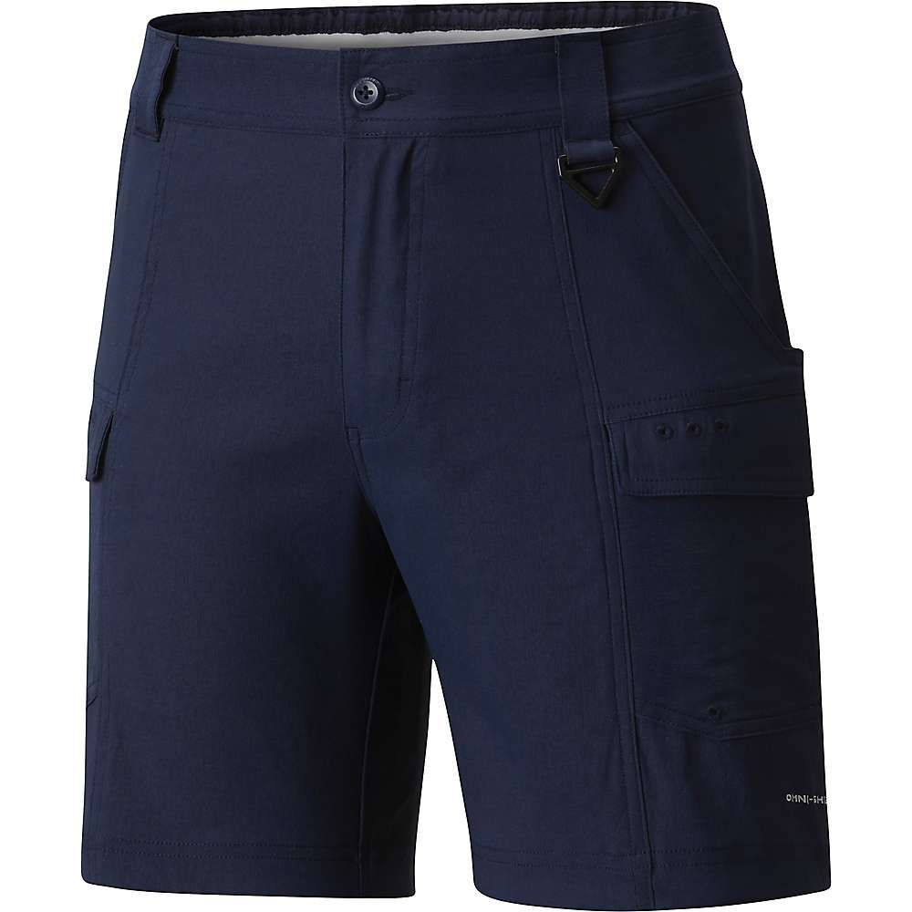 コロンビア Columbia メンズ ハイキング・登山 ボトムス・パンツ【Low Drag 6IN Short】Collegiate Navy