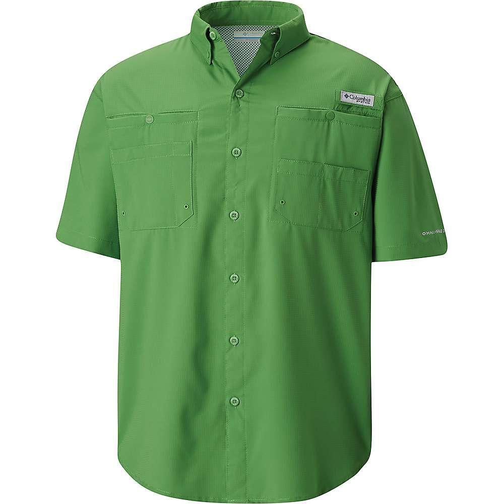 コロンビア Columbia メンズ トップス 半袖シャツ【Tamiami II Slim Fit SS Shirt】Clean Green