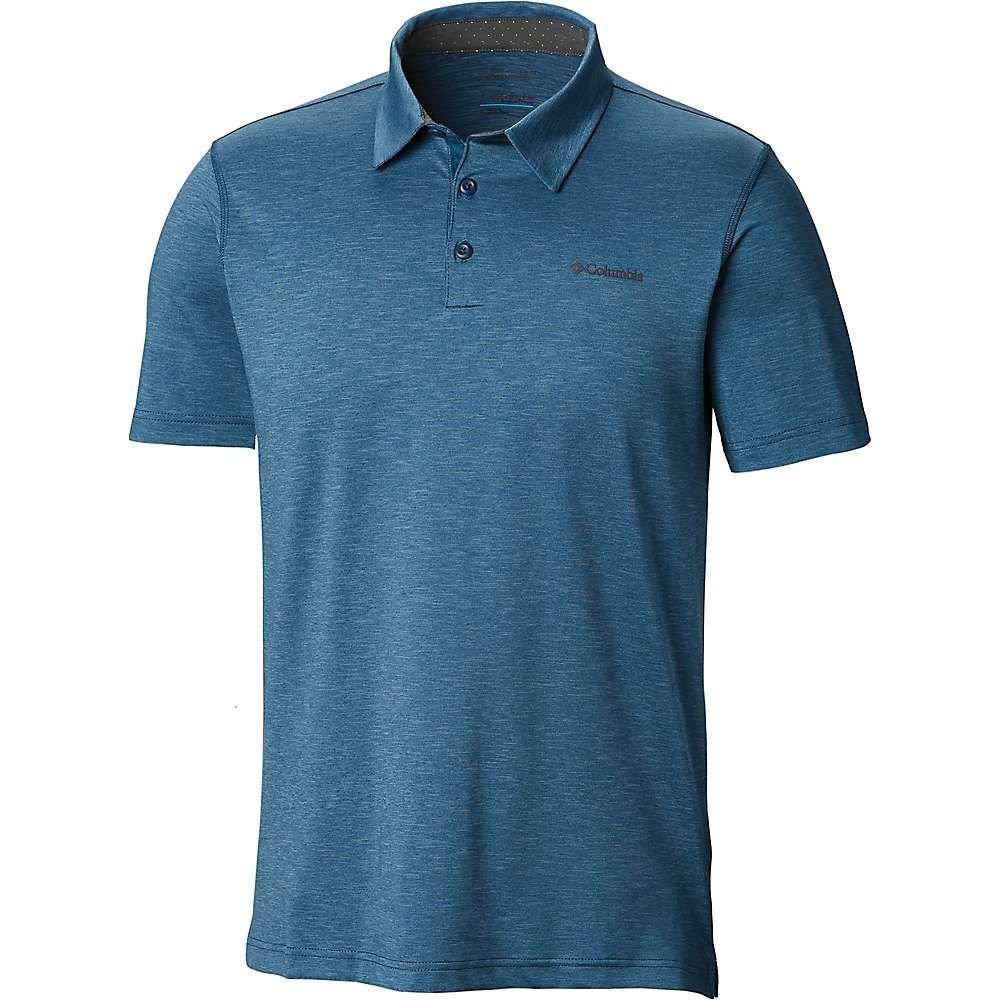 春夏新作モデル コロンビア Columbia メンズ Trail ハイキング・登山 メンズ トップス【Tech Trail Polo Blue Shirt】Petrol Blue, eWine:308a9fc1 --- clftranspo.dominiotemporario.com