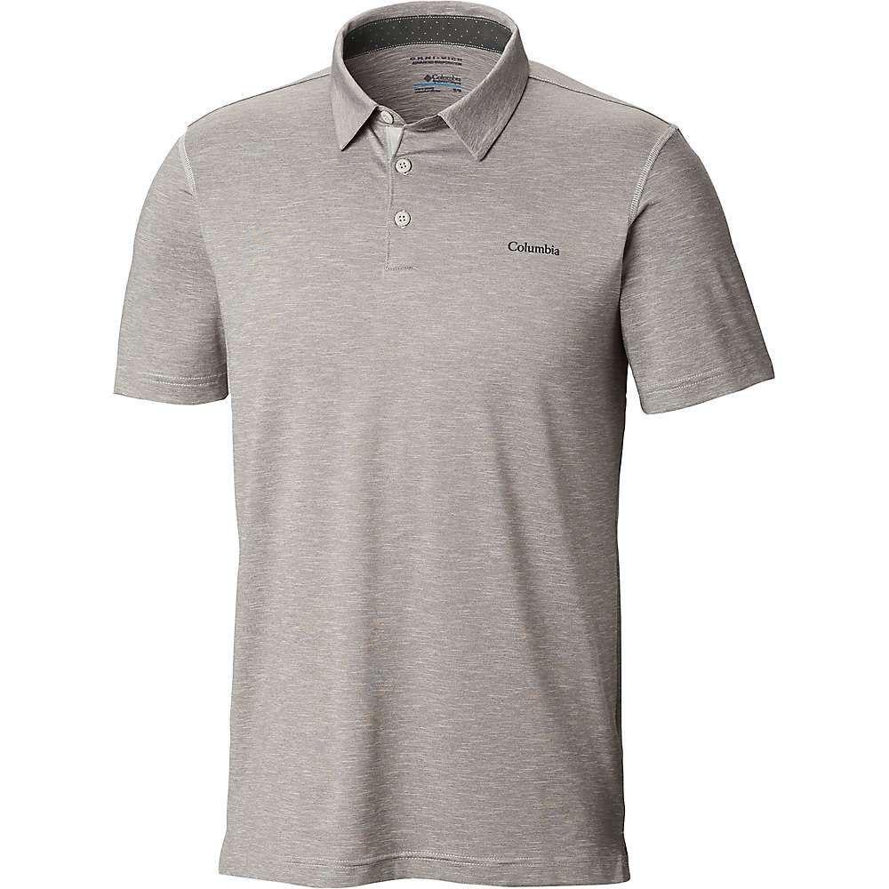 新入荷 コロンビア Columbia メンズ ハイキング・登山 Grey トップス【Tech Trail メンズ Polo Trail Shirt】Cool Grey, スタンプラボ インフィニティ:ac6503e8 --- bibliahebraica.com.br