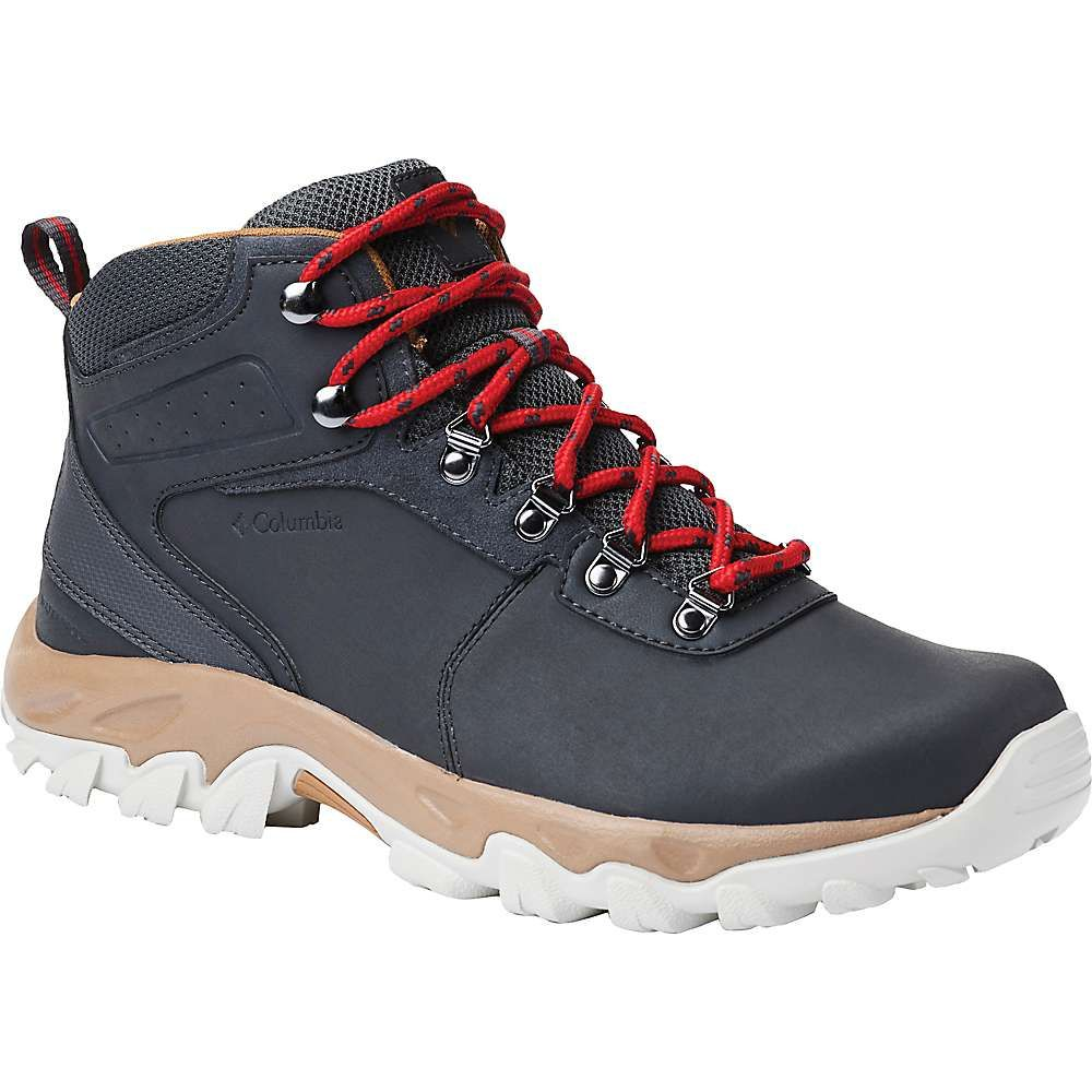 コロンビア Columbia Footwear メンズ ハイキング・登山 シューズ・靴【Columbia Newton Ridge Plus II WP Boot】Shark/Mountain Red