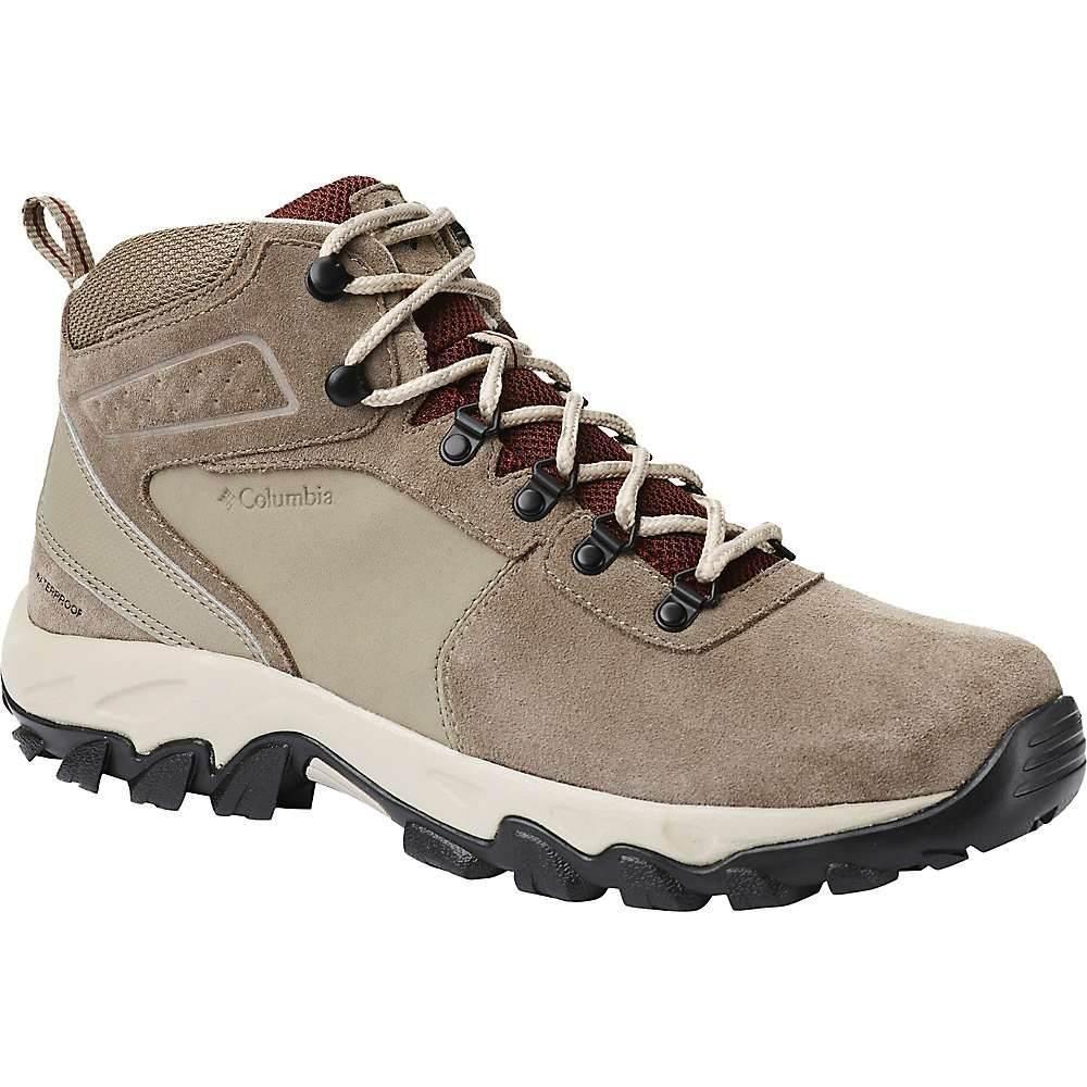 コロンビア Columbia Footwear メンズ ハイキング・登山 シューズ・靴【Columbia Newton Ridge Plus II Suede WP Boot】Pebble/Deep Rust