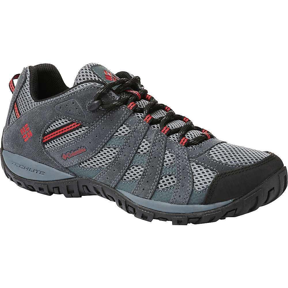 コロンビア Columbia Footwear メンズ ハイキング・登山 シューズ・靴【Columbia Redmond Shoe】TI Grey Steel/Mountain Red