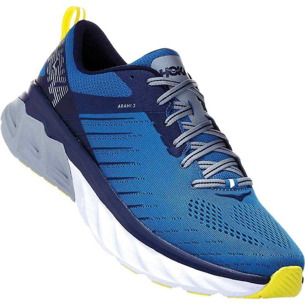 ホカ オネオネ Hoka One One メンズ ランニング・ウォーキング シューズ・靴【Arahi 3 Shoe】Blue Sapphire/Mood Indigo
