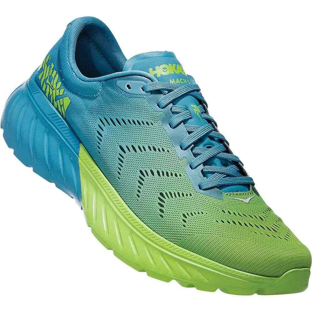 ホカ オネオネ Hoka One One メンズ ランニング・ウォーキング シューズ・靴【Mach 2 Shoe】Storm Blue/Lime Green