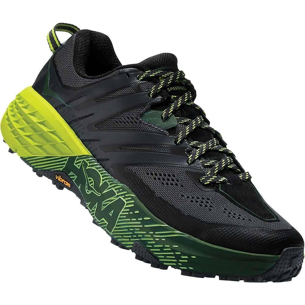 ホカ オネオネ Hoka One One メンズ ランニング・ウォーキング シューズ・靴【Speedgoat 3 Shoe】Ebony/Black