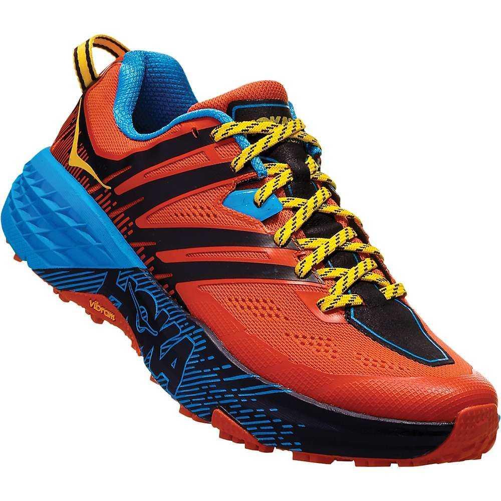 ホカ オネオネ Hoka One One メンズ ランニング・ウォーキング シューズ・靴【Speedgoat 3 Shoe】Nasturtium/Spicy Orange