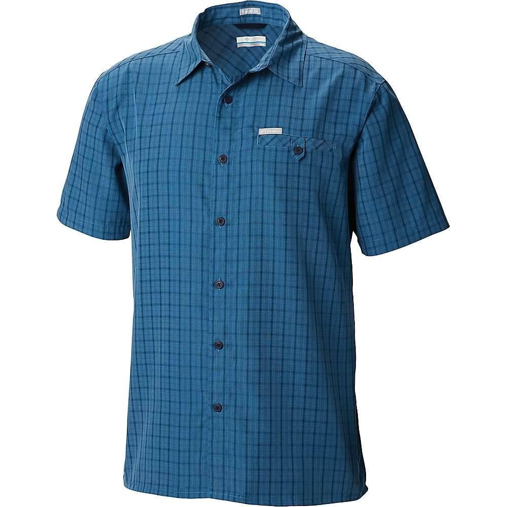 コロンビア Columbia メンズ ハイキング・登山 トップス【Declination Trail II SS Shirt】Impulse Blue Plaid