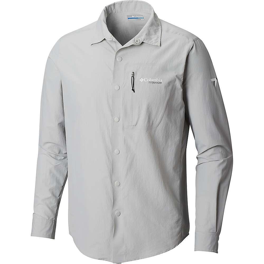 コロンビア Columbia メンズ ハイキング・登山 トップス【Featherweight Hike II LS Shirt】Cool Grey