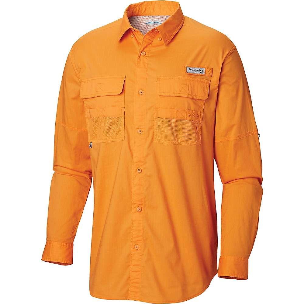 コロンビア Columbia メンズ ハイキング・登山 トップス【Half Moon LS Shirt】Koi