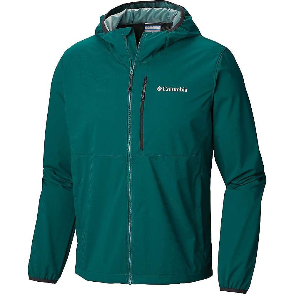 コロンビア Columbia メンズ ランニング・ウォーキング アウター【Mystic Trail Jacket】Pine Green