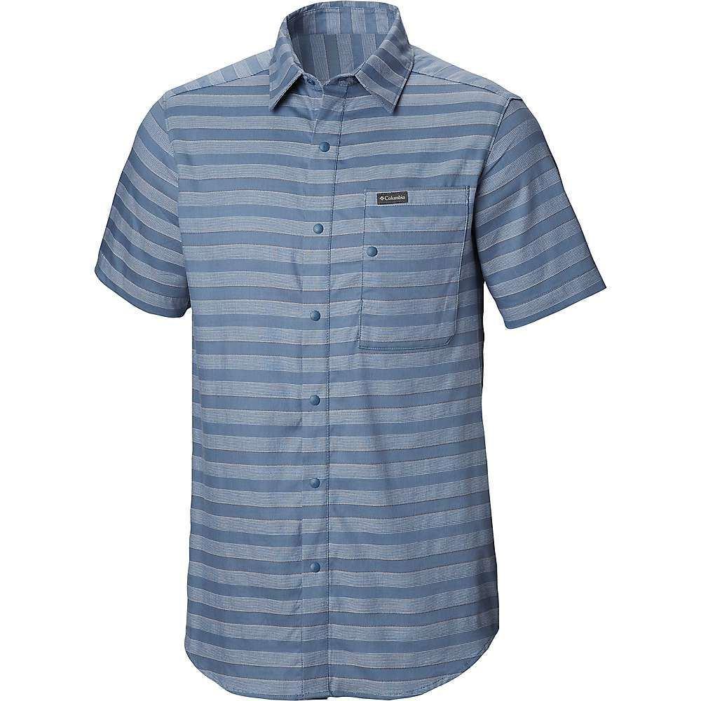 独特の上品 コロンビア Columbia メンズ ハイキング SS・登山 トップス メンズ Columbia【Shoals Point SS Shirt】Mountain Stripe, ナガサキシ:e52c6e61 --- canoncity.azurewebsites.net