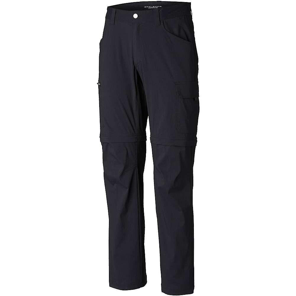 コロンビア Columbia メンズ ハイキング・登山 ボトムス・パンツ【Silver Ridge II Stretch Convertible Pant】Black