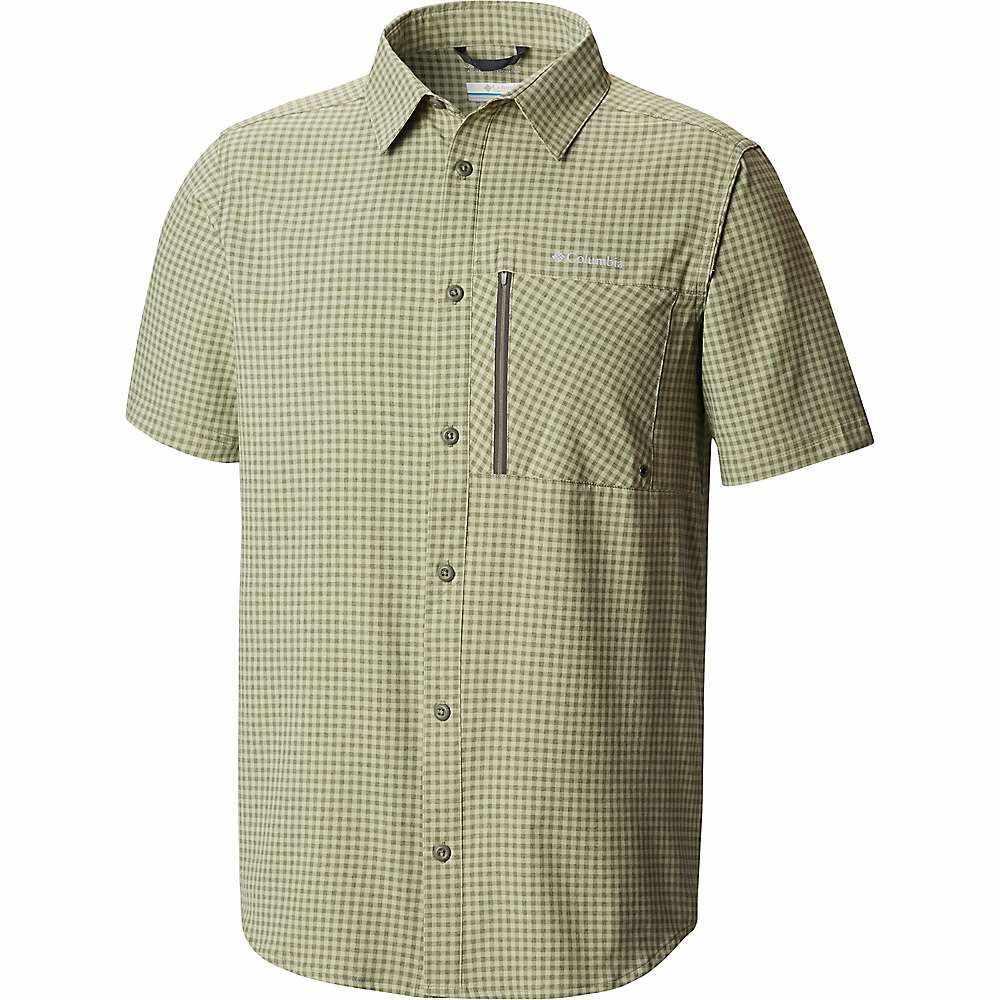 コロンビア Columbia メンズ ハイキング・登山 トップス【Tech Trail SS Shirt】Cypress Gingham
