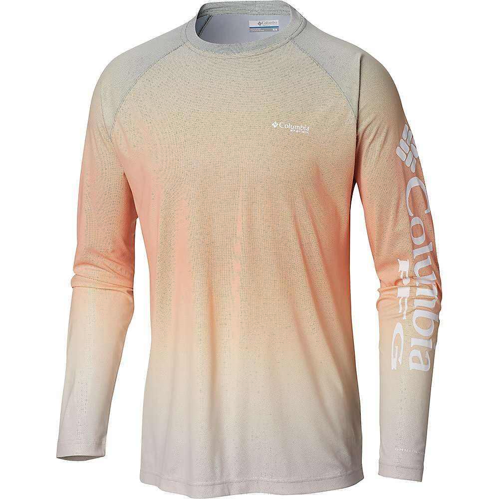 コロンビア Columbia メンズ ハイキング・登山 トップス【Terminal Deflector Printed LS Shirt】Cypress Gradient
