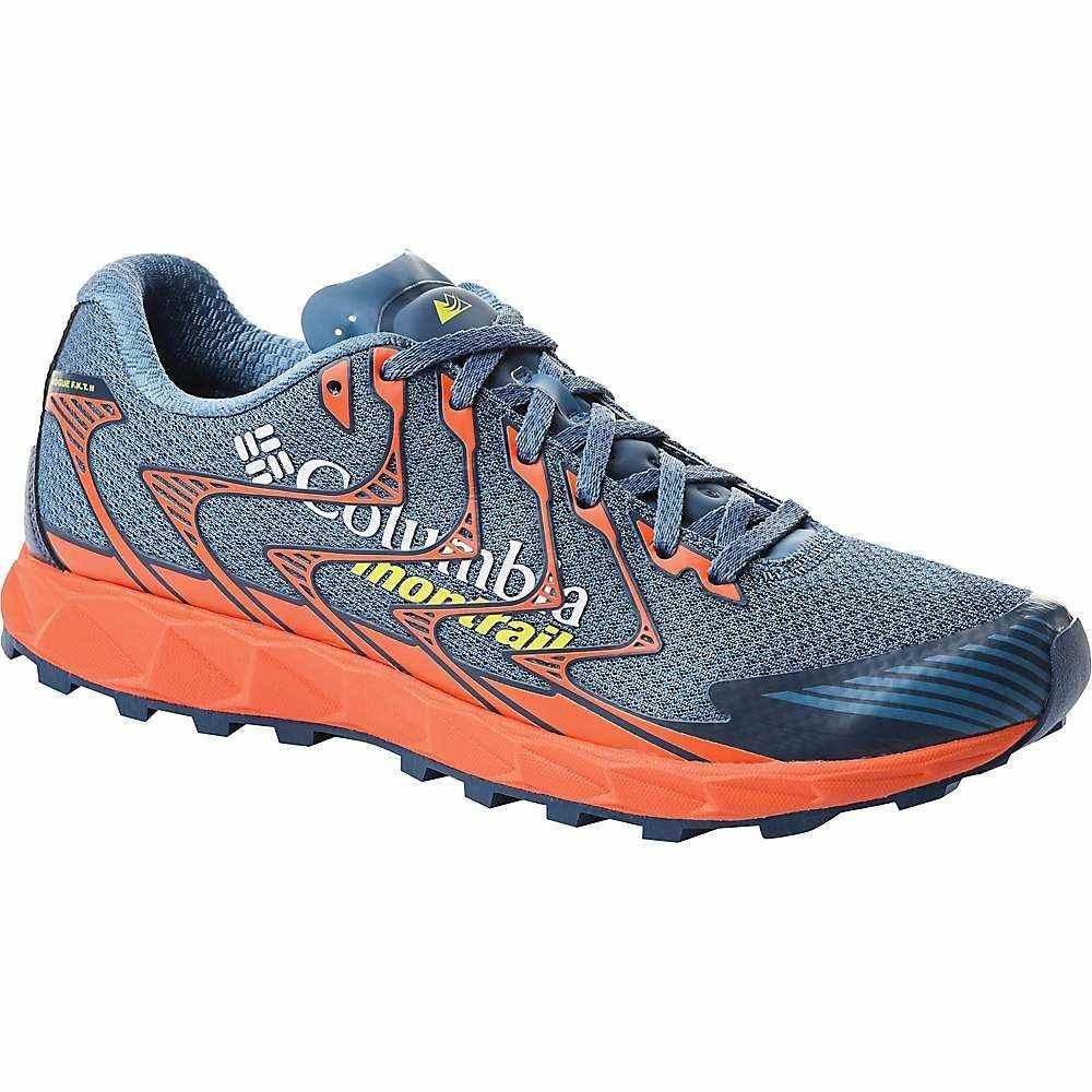コロンビア Columbia Footwear メンズ ランニング・ウォーキング シューズ・靴【Columbia Rouge F.K.T II Shoe】Steel/Acid Yellow