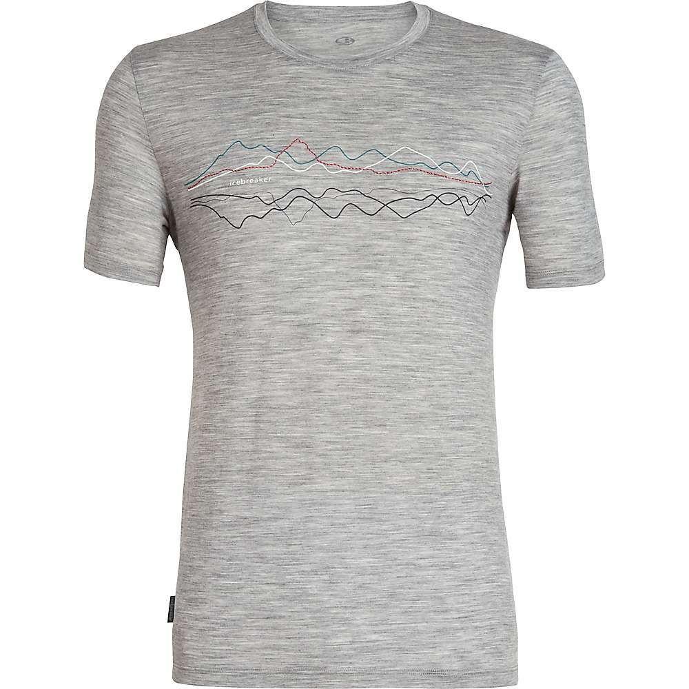 アイスブレーカー Icebreaker メンズ ハイキング・登山 トップス【Tech Lite SS Crewe Original Shirt】Metro Heather