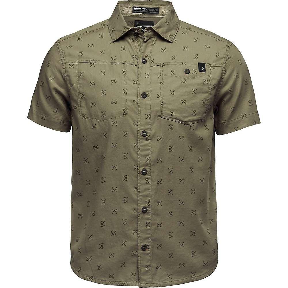 ブラックダイヤモンド Black Diamond メンズ トップス 半袖シャツ【Solution SS Shirt】Sergeant Print