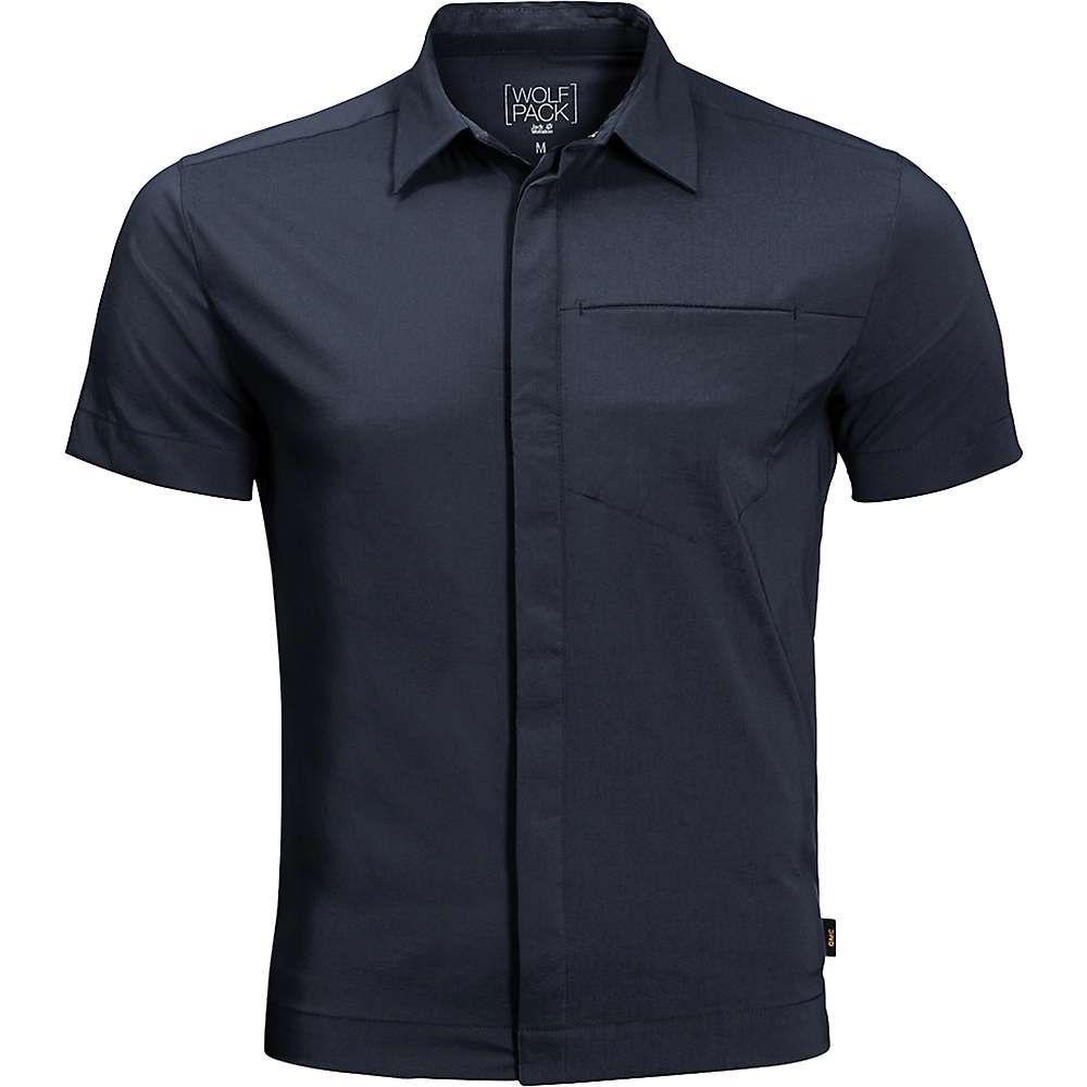ジャックウルフスキン Jack Wolfskin メンズ ハイキング・登山 トップス【JWP Shirt】Night Blue