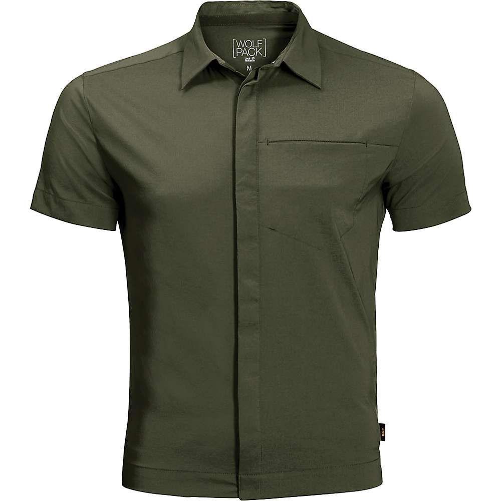 ジャックウルフスキン Jack Wolfskin メンズ ハイキング・登山 トップス【JWP Shirt】Woodland Green